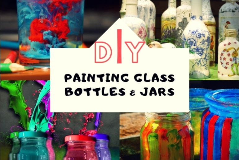 paint glass bottles